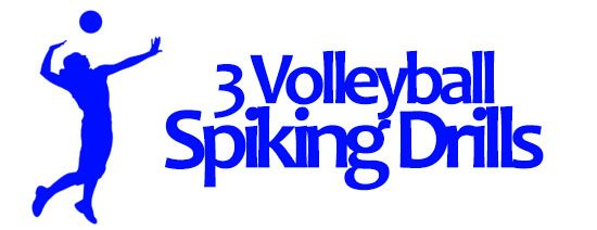3 Great Volleyball Spiking Drills...  http://www.topvolleyballdrills.com/volleyball-spiking-drills/  #spiking #volleyball #drills #sports