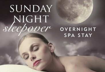 It's time to experience our Sunday Night Sleepover  After a relaxing Sunday nights sleep, enjoy the most indulgent day of luxury in The Spa.  ✨ Overnight spa stay with two course evening meal, breakfast, one 25 minute spa treatment and much more!✨    £75pp [based on 2 sharing]