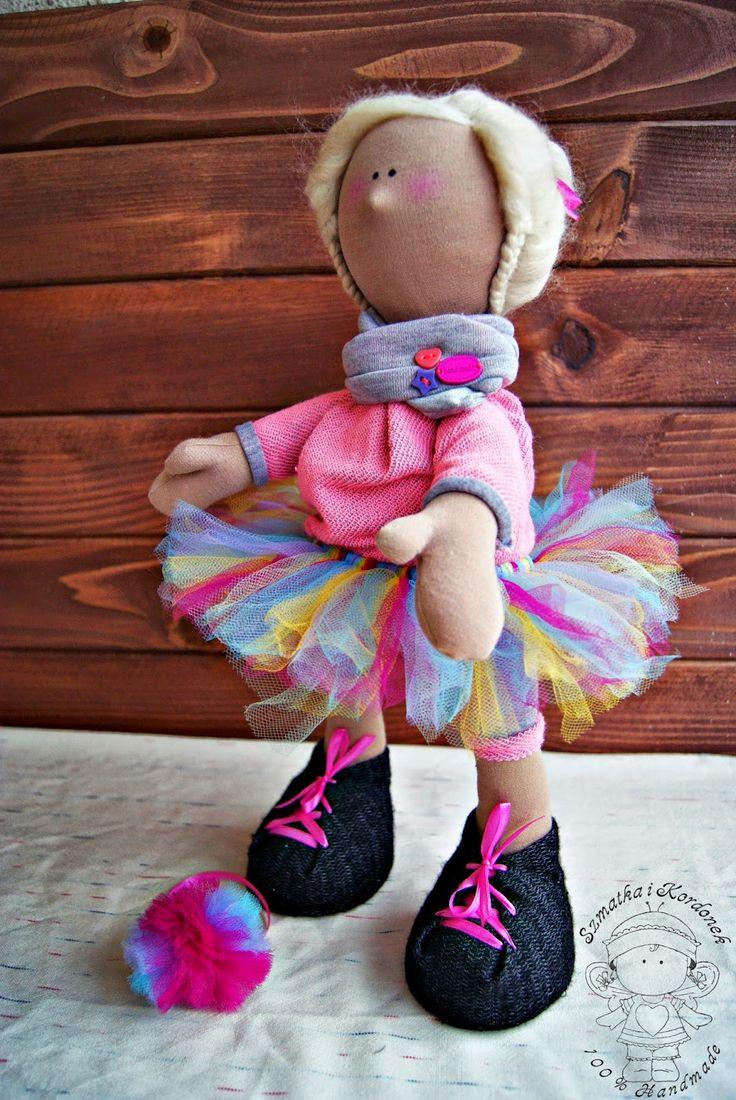 Szmatka i kordonek : Tęczowa baletnica Zosi
