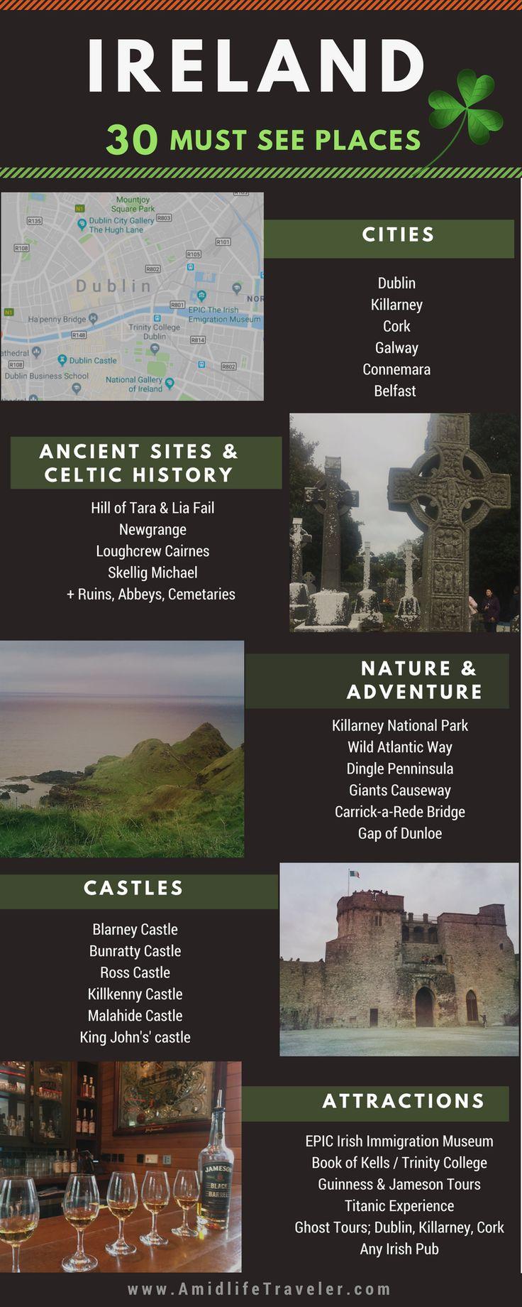 Ireland Vacation Ideas