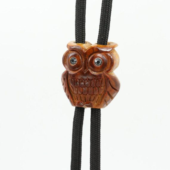 Hey, I found this really awesome Etsy listing at https://www.etsy.com/listing/270361415/owl-bolo-tie-avocado-seed-necklace