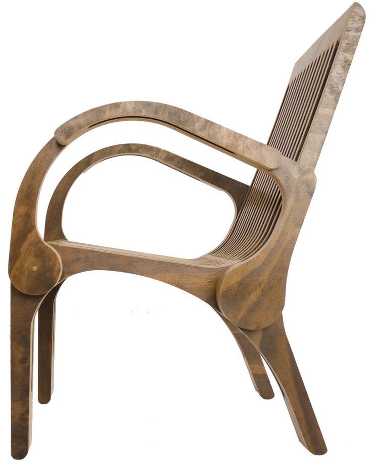 Silla Sabado / Paut workshop  www.pyvarquitectos.com #chair #interiordesign #architecture #wood #design