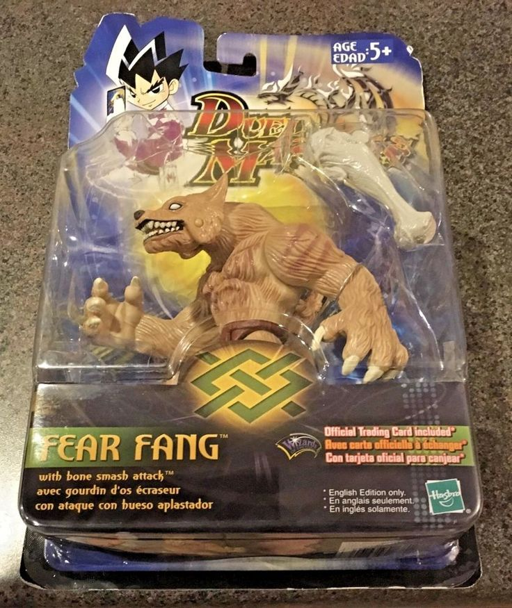 Duel masters fear fang bone smash attack official trading