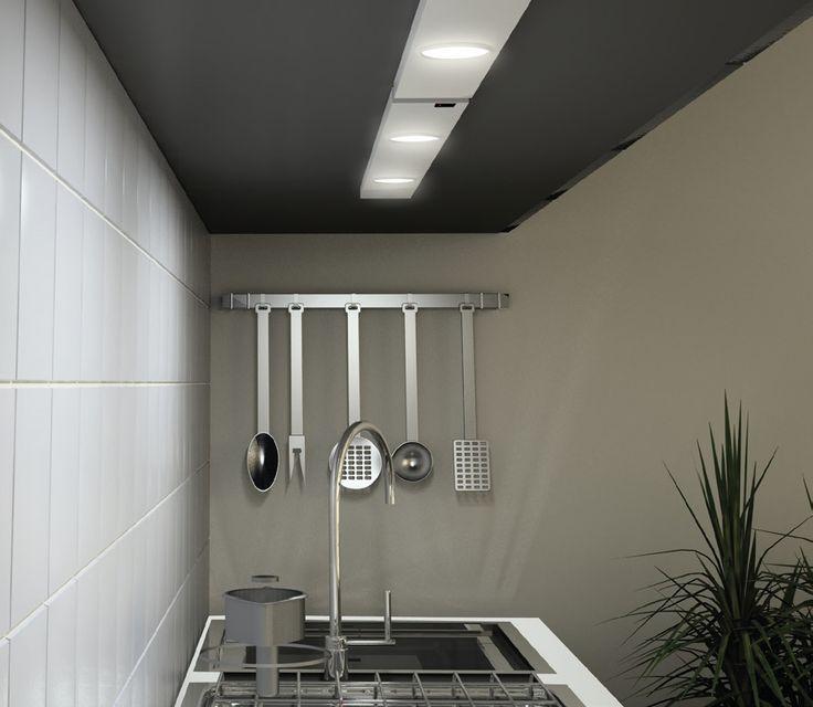 Kuchyňské svítidlo PANLUX BL224S/CH (DAERON) led svítidlo, jak už název napovída, vybavené led zdroji s vysokým výkonem a životností #led #panlux #svítidlo, #osvětlení, #světlo, #light #kuchyně #kitchen