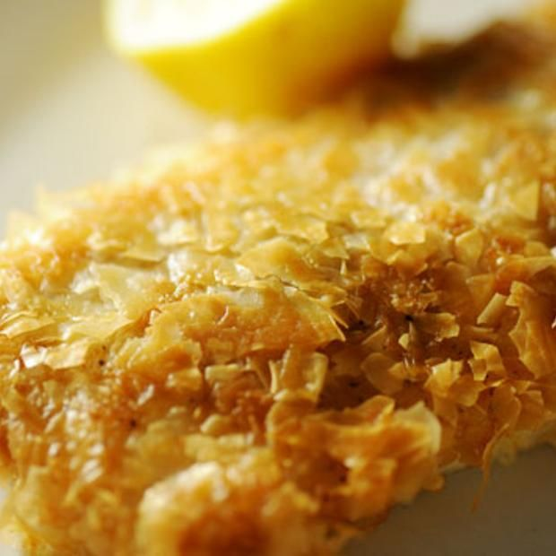 Phyllo-Crusted Petrale Sole Recipe  with 5 ingredients