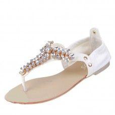 Dames sandalen - wit