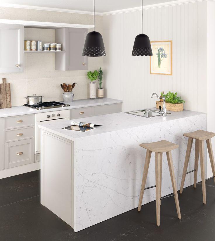 Silestone® Eternal Statuario_Kitchen
