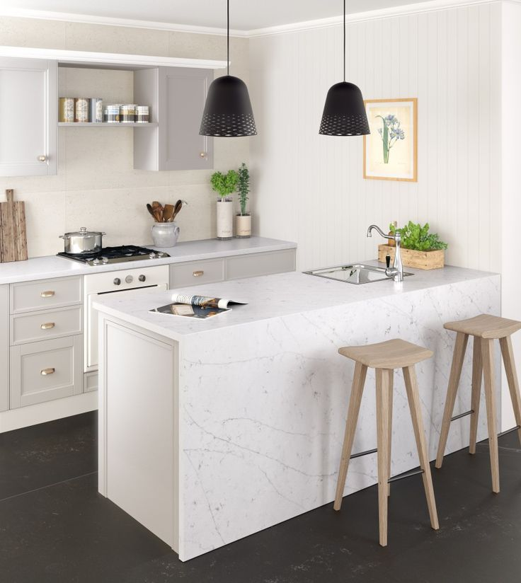 Silestone® Eternal Statuario_Kitchen