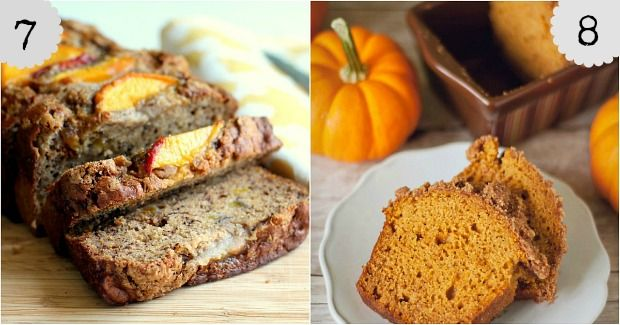 8 Delicious Fall Bread Recipes: Bananas Breads Recipe, Delicious Fall, Fall Flavored, Cinnamon Breads, Fall Recipe, Fall Breads, Fall Baking, Breads Rol, Autumn Recipe