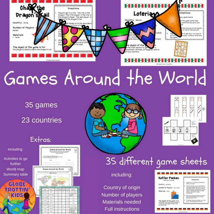 Games Around The World, developed by GlobeTrottin' Kids, features 35 games from 26 different countries. Play with your kids today!