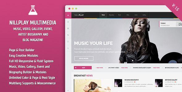 Nillplay Multimedia Music, Video, Event Magazine