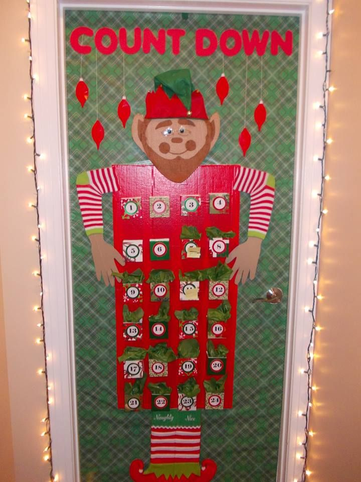 christmas office door decorating. Decorating Ideas \u003e Count Down To Christmas By Jenell Yearwood Office Door ~ 004306_Christmas Decorations For At F