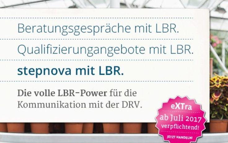 Beratungsgespräche mit LBR. Qualifizierungsangebote mit LBR. Für Ihre Kommunikation mit der DRV.