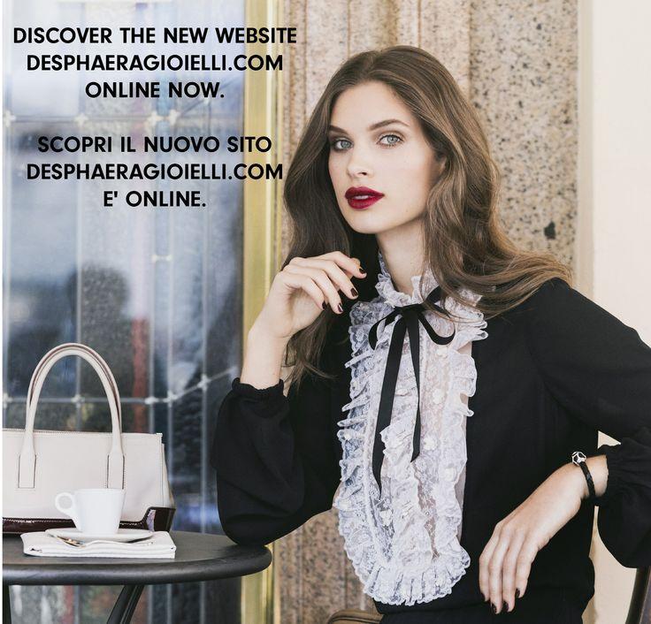 Scopri il nuovo sito www.desphaeragioielli.com è online. #madeinitaly