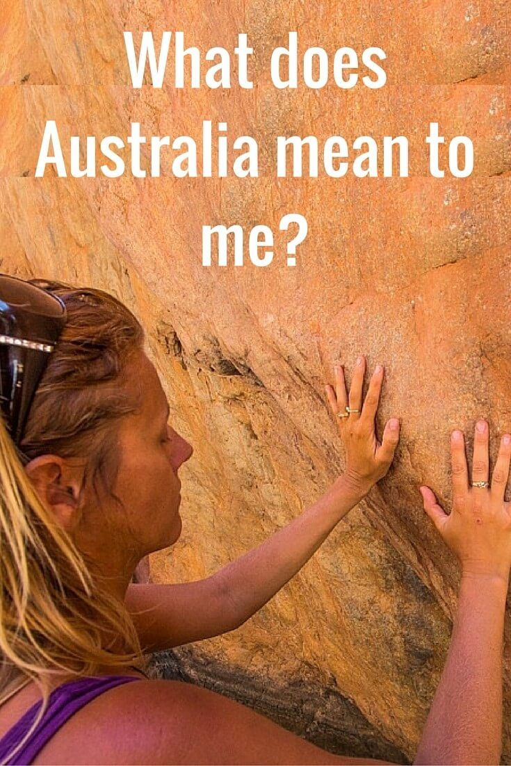 What does Australia mean to me?