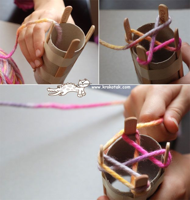 """machine"" for making rope"