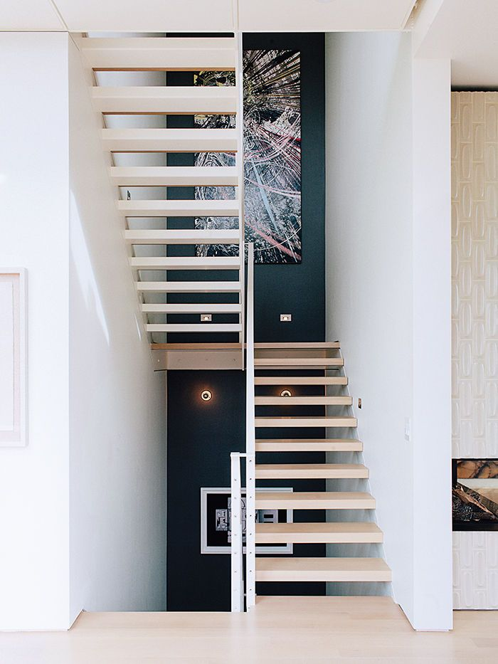 Everything about this renovation is stunning. - Modern renovation in San Francisco main staricase