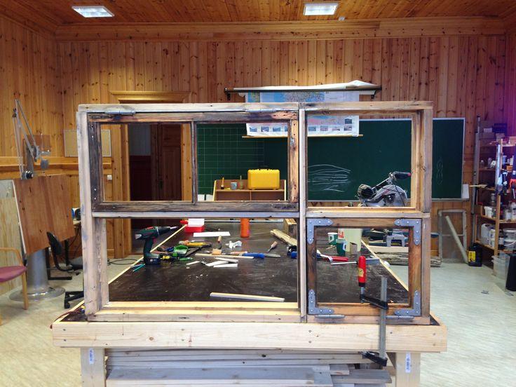 Window restoration workshop vardø.
