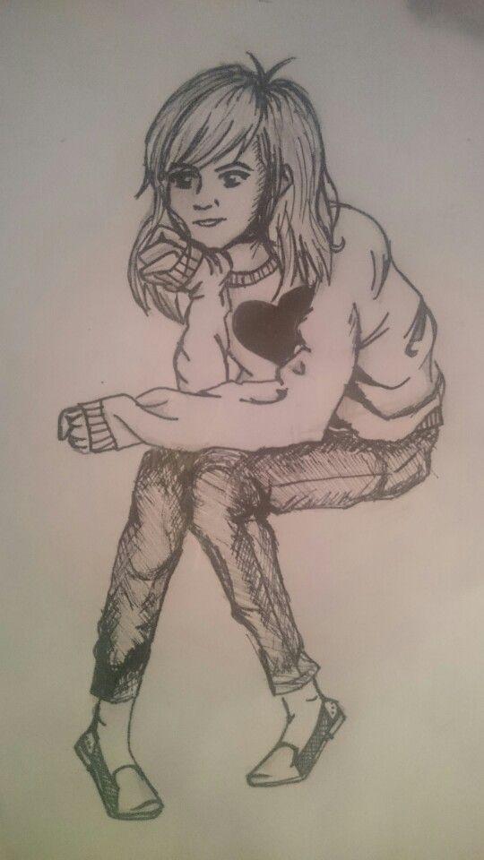 Illustration of myself