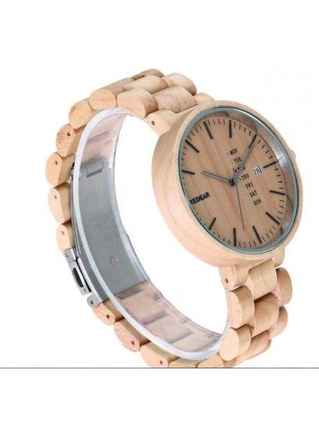 Damenuhr auf der Hand - PARIS Artikel-Nr.:  DH00010 -MAPLE WOOD** REDEAR Zustand:  Neuer Artikel  Verfügbarkeit:  Auf Lager  Elegante hölzerne Uhr mit einem einzigartigen Design. Geschenk fit für einen Mann und eine Frau. Uhren sind aus natürlichen Materialien, ohne künstliche Farbstoffe