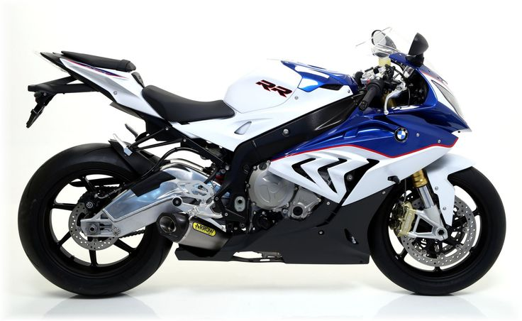 Arrow shows a new complete line-up of exhausts for the updated BMW S1000RR superbike, both slip-on and full systems are available
