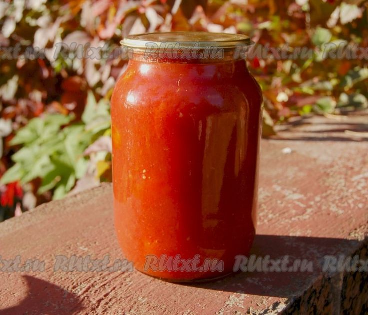 Консервирование помидоров в собственном соку - рецепт с фото