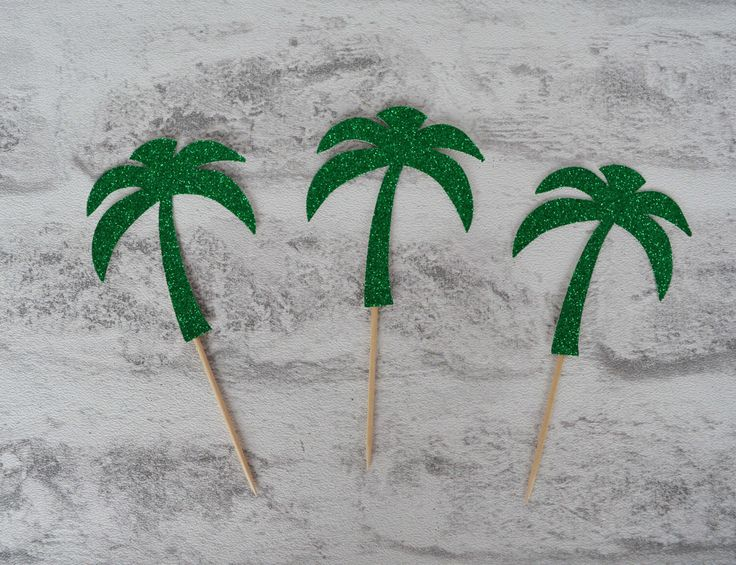 how to make buttercream palm trees