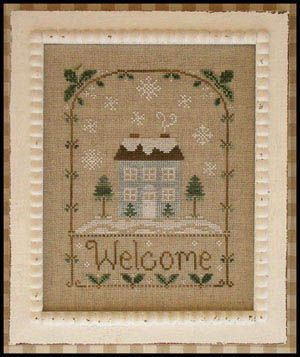 1397 fantastiche immagini su cross stitch christmas su for Country living magazine cross stitch