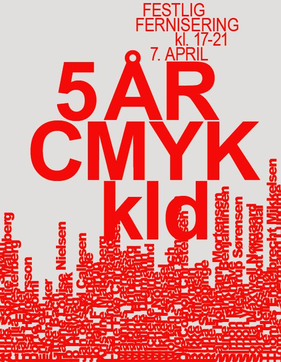 Group exhibition, gallery CMYK kld