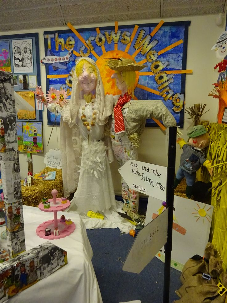 The Scarecrows Wedding display