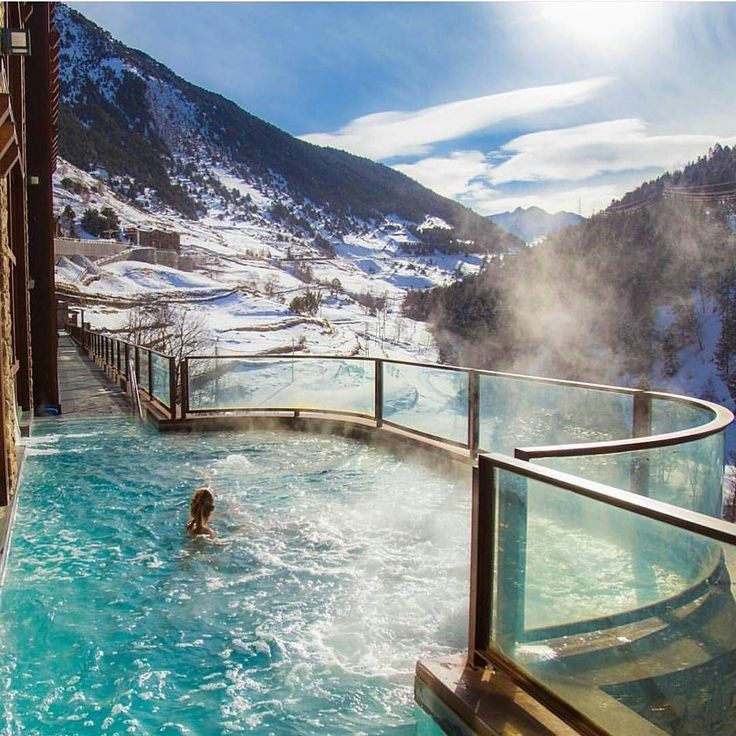 Hermitage Spa&  Hotel  Andorra Photography by @vamospraonde #destinationearth by destination.earth