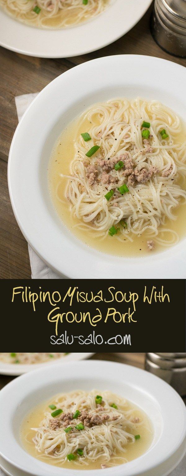 126 best ♡♥Traditional Filipino Food:Noodles♥♡ images on ... |Filipino Soup Dishes