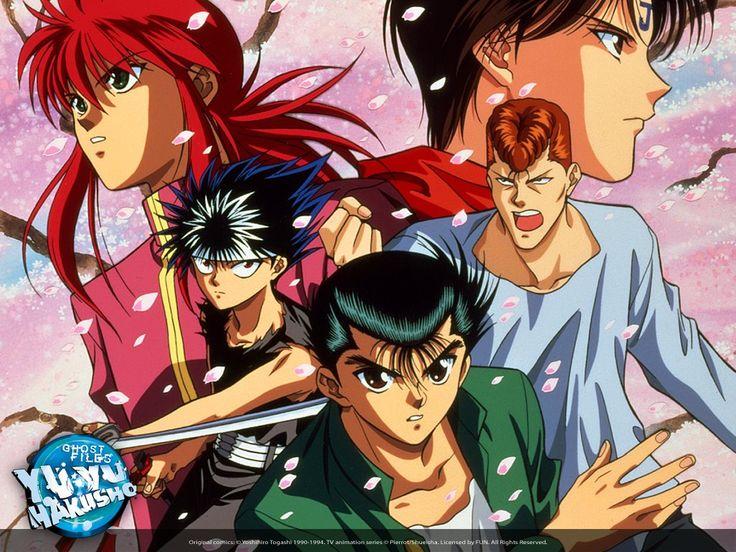 Yu Yu Hakusho! Yuyu hakusho, Animes dublados, Anime