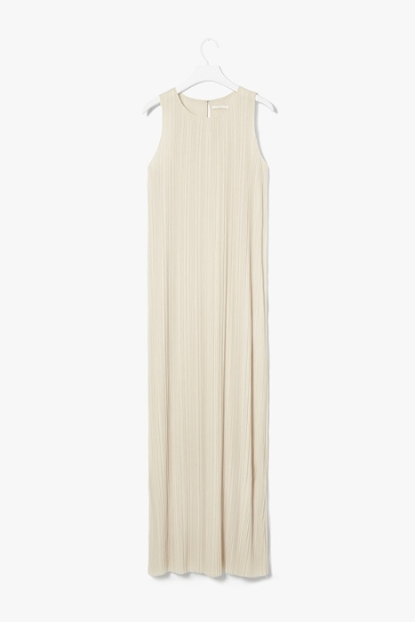 Cos Long pleated dress