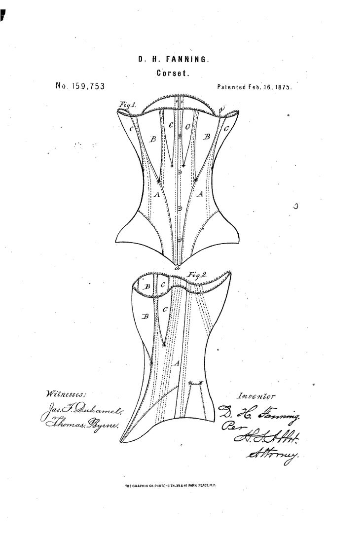 Patent US159753 - IMPROVEMENT IN CORSETS - Google Patents