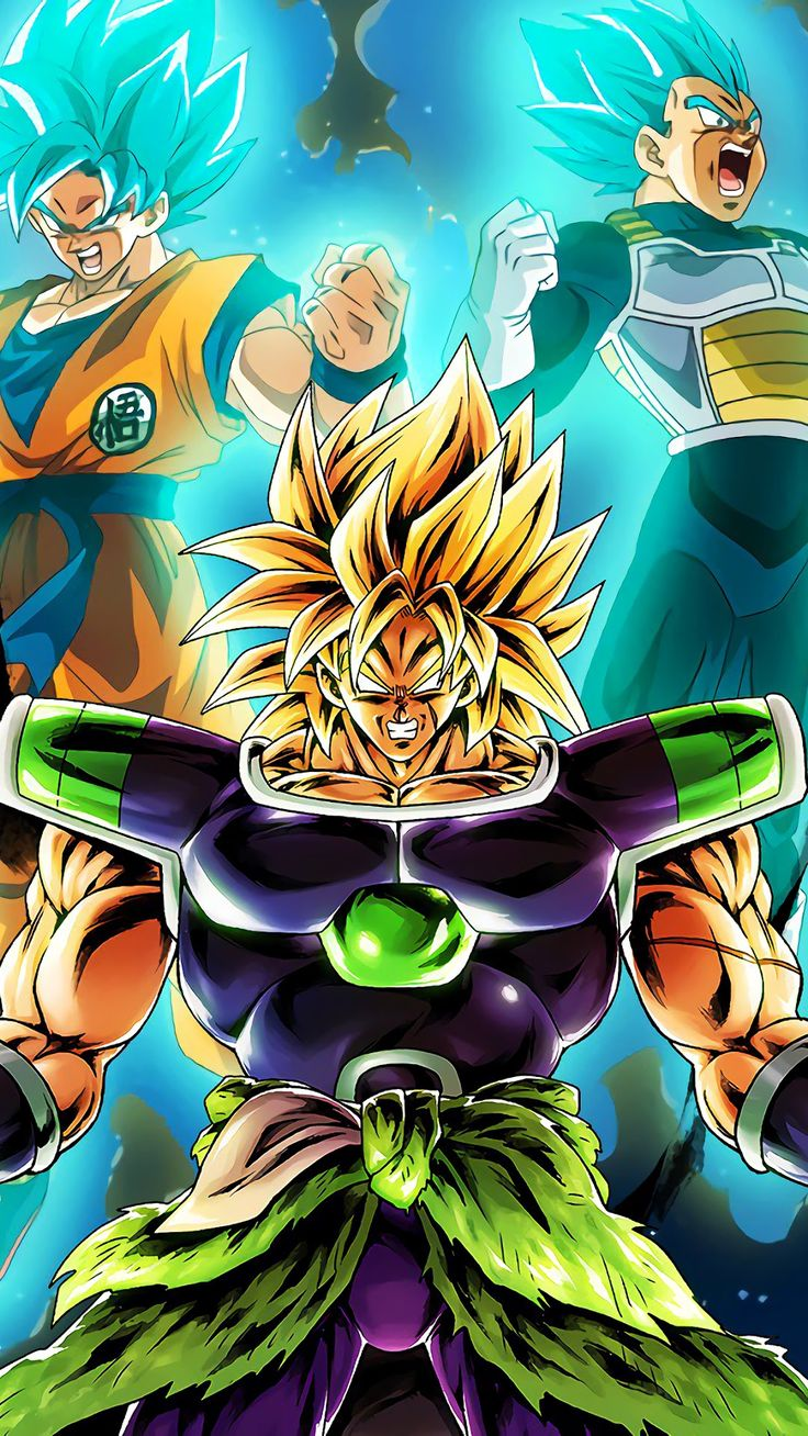 Dragon Ball Iphone Wallpaper Broly Ve A Goku Dragon Ball
