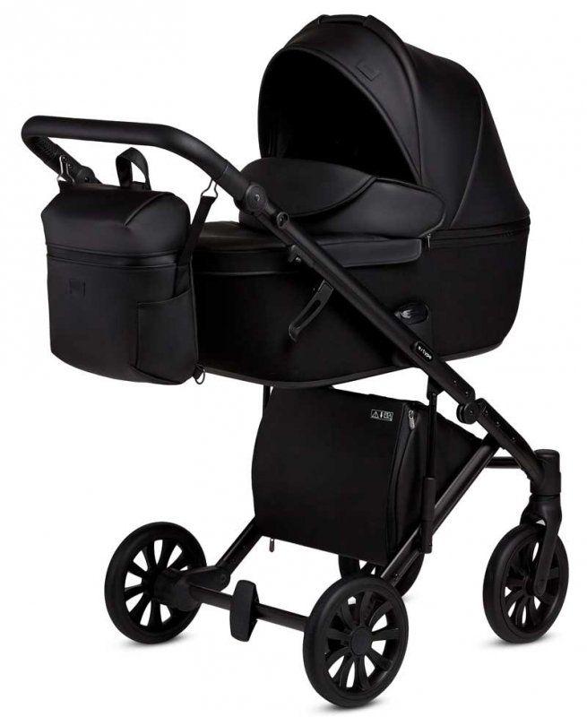 Anex E Type Noir Black Kombi Kinderwagen 2 In 1 Mit Babywanne Und Sportwagen Oder 3 In 1 Mit Autoschale Child Safety Seat Stroller Baby Strollers