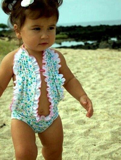 Baby bathingsuit!