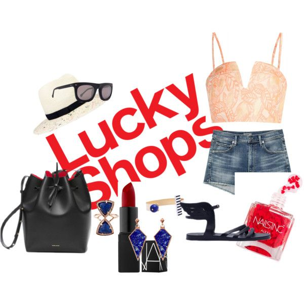 Lucky Shops by ralucabrezniceanu on Polyvore featuring Opening Ceremony, Eugenia Kim and Steven Alan