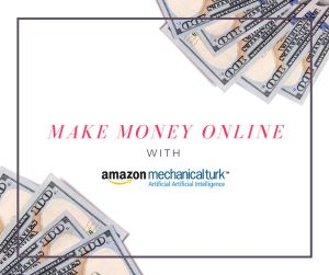 How you can make money online anytime with Amazon's Mechanical Turk.