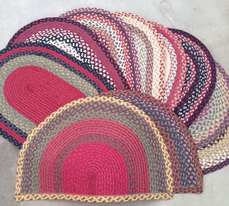 Durable rugs in different shapes that are reversible