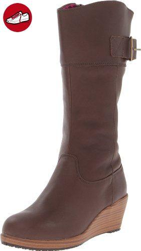 Crocs A-leigh Leather Boot 14783-23B-460, Damen Stiefel, Braun (Espresso/ Walnut), US W8 - Crocs schuhe (*Partner-Link) | Crocs Schuhe | Pinterest |  Crocs