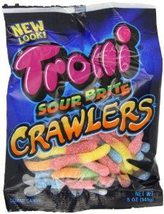 Sour Gummy Worms.Gummy Candies, Favorite Things, 995 Bestselling, 5Ounc Bags, Brite Crawler, Bags Pack, Sour Brite, Trolly Sour, 5 Ounce Bags