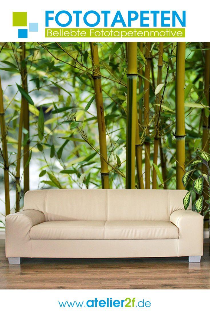 Bambus Fototapete Sg Bambusmotiv Wandbilder Wandgestaltung Homedesign In 2020 Fototapete Wald Tapete Tapeten