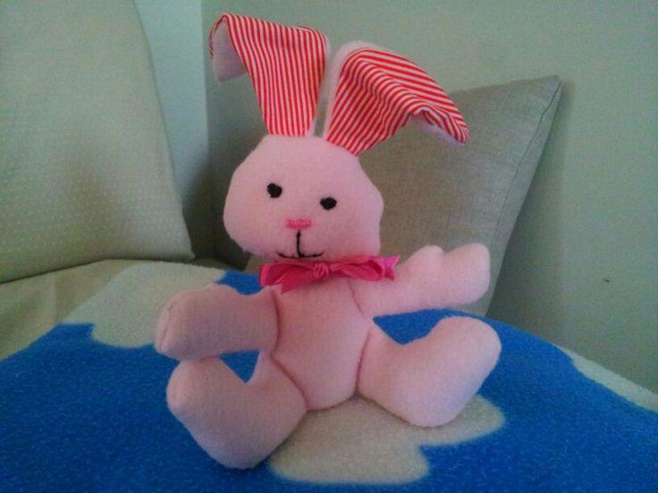 Pupazzo coniglietto handmade