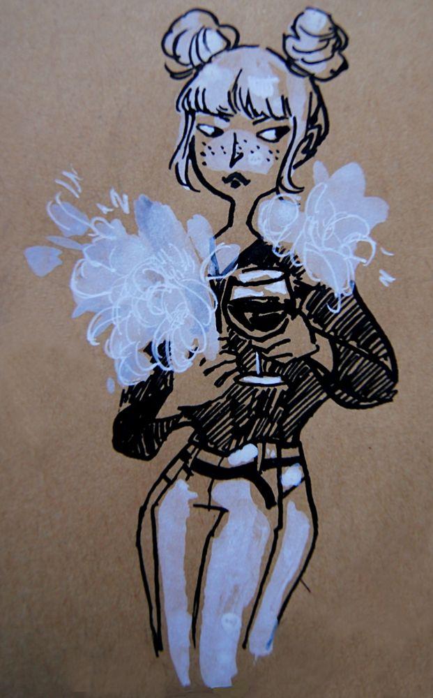 Feather boa by Madjsteie.deviantart.com on @DeviantArt