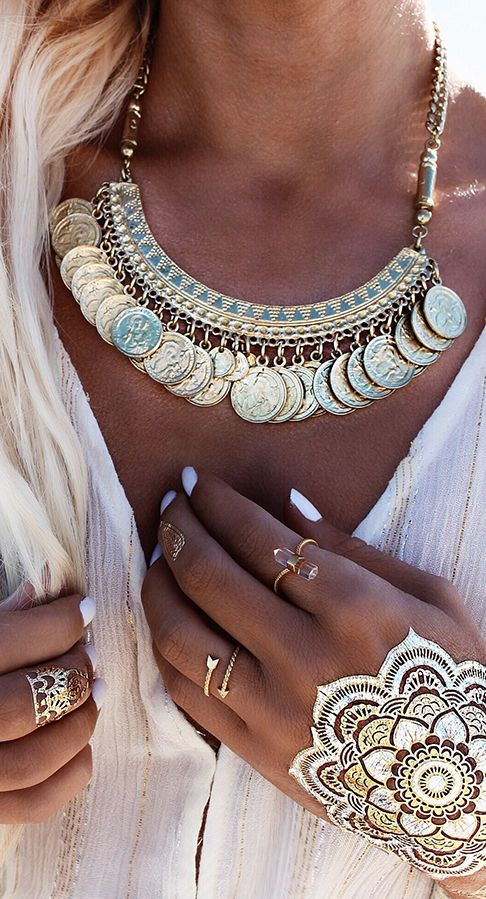 Boho jewelry style | http://Www.marykay.com/lisamn