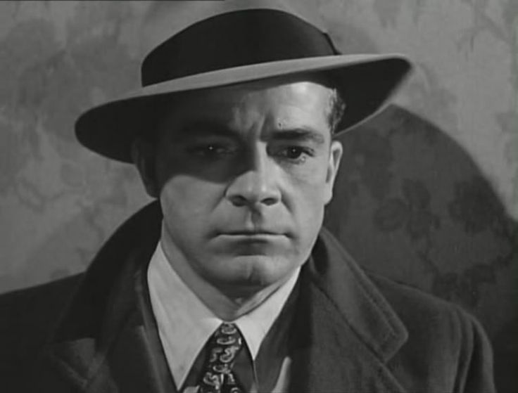 "Dana Andrews from the movie ""Where the Sidewalk Ends."""