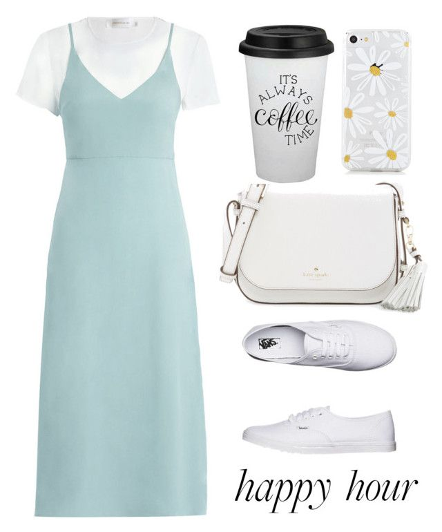 """""""Outfit #27"""" by trishsa on Polyvore featuring Zimmermann, Vans and Kate Spade"""