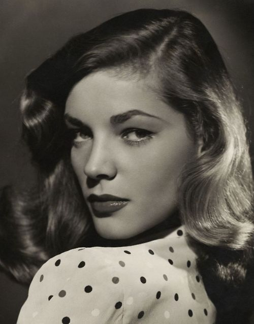 Bacall: Polka Dots, Faces, Hollywood Glamour, Hairs, Laurenbacall, Lauren Bacall, Beauty People, Humphrey Bogart, Actresses